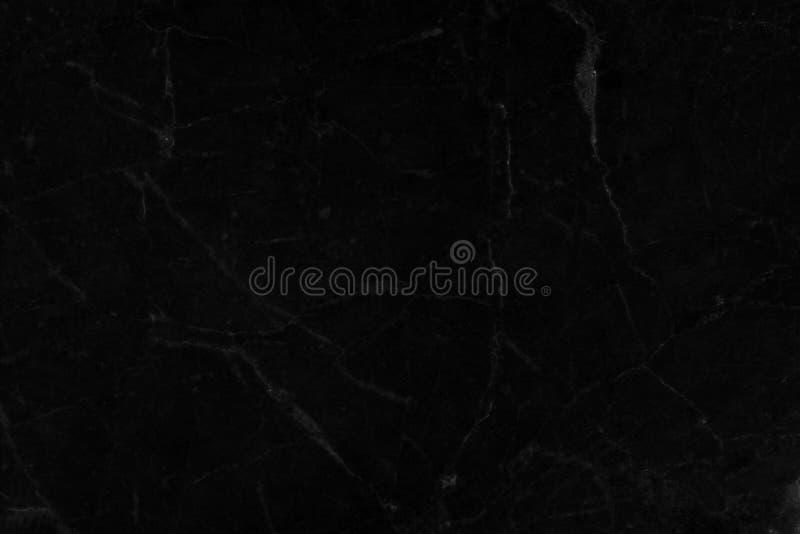 Naturlig svart marmor för texturer med härliga modeller arkivfoto