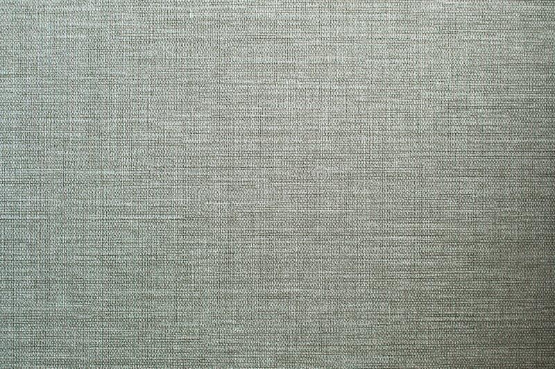 Naturlig vävd textur för linne av grön färg för bakgrunder arkivbild