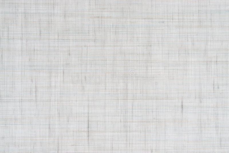 Naturlig vit linnetextur royaltyfri illustrationer