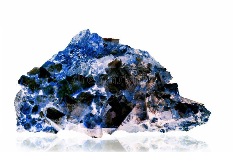 Naturliga crystal gemstones royaltyfri foto