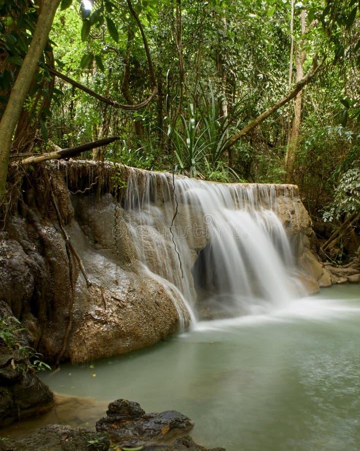 Naturliga dragningar f?r Thailand vattenfall arkivbild
