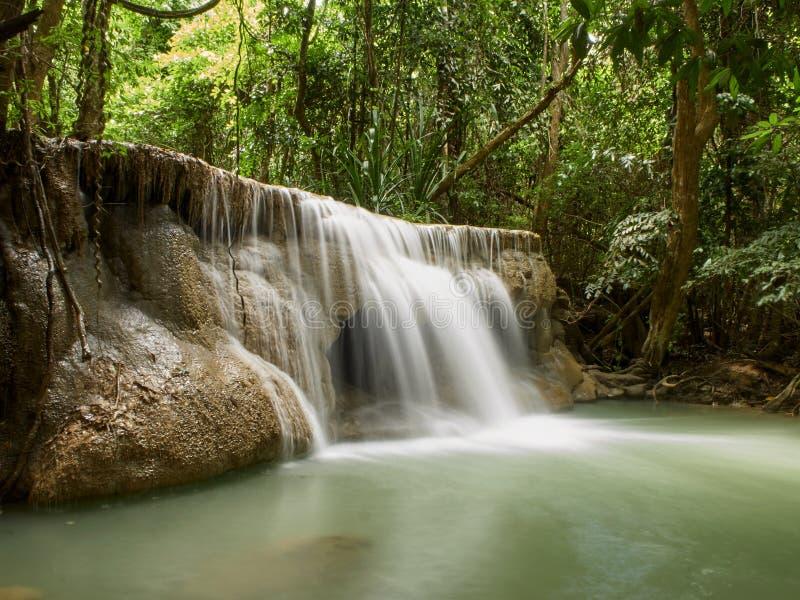 Naturliga dragningar f?r Thailand vattenfall arkivfoto