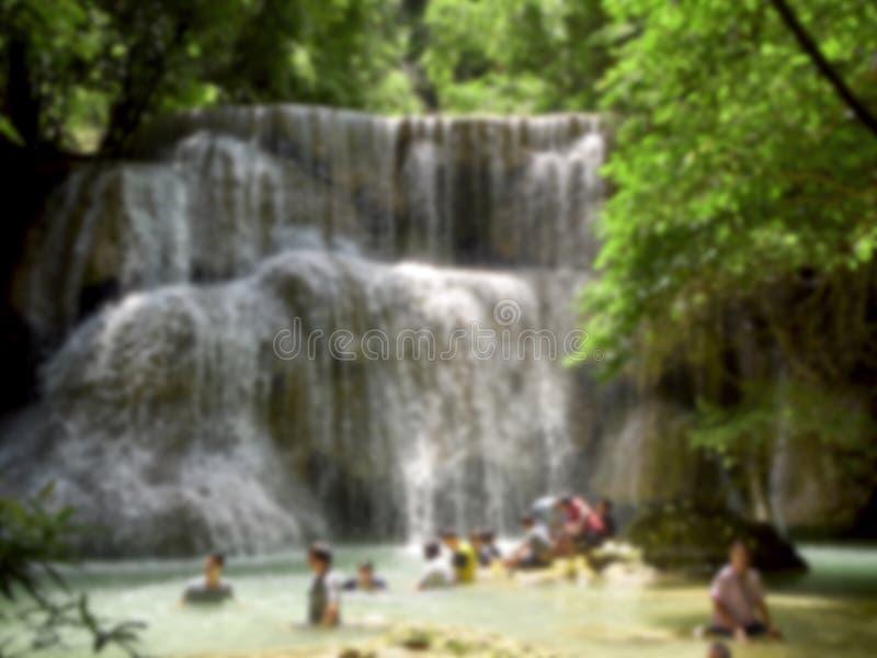 Naturliga dragningar f?r Thailand vattenfall arkivfoton