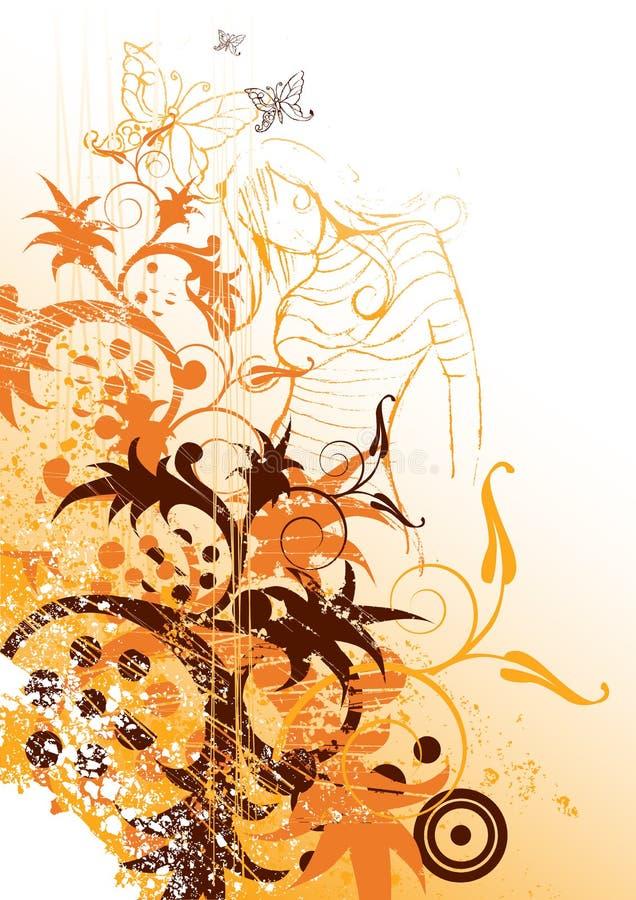 naturliga element vektor illustrationer