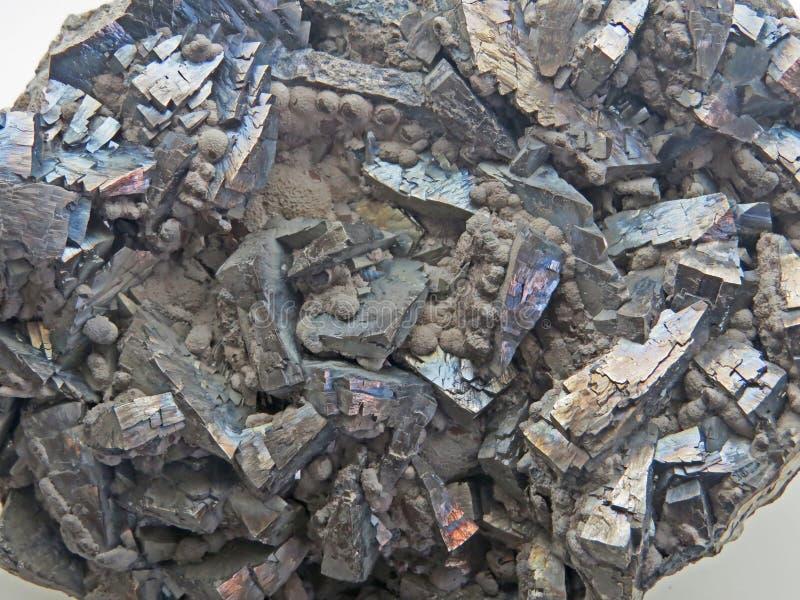 Naturliga former Mineraler och halv-dyrbara stentexturer och bakgrunder arkivfoto