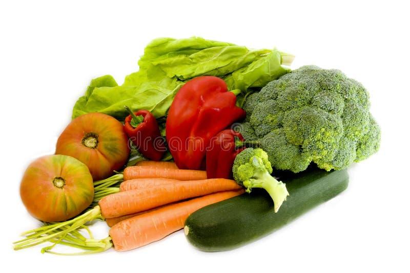 naturliga grönsaker royaltyfria bilder