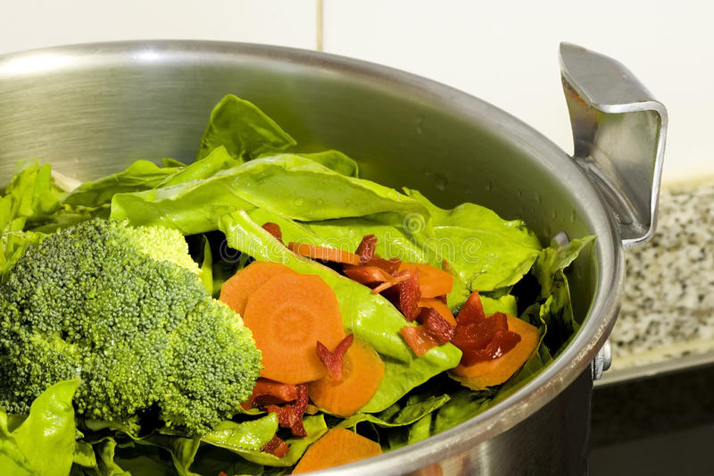 naturliga grönsaker royaltyfri bild