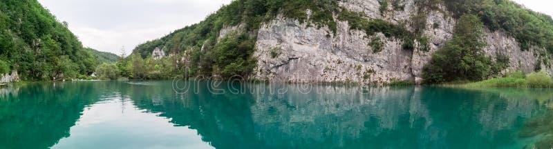 Naturliga Plitvice parkerar royaltyfri foto