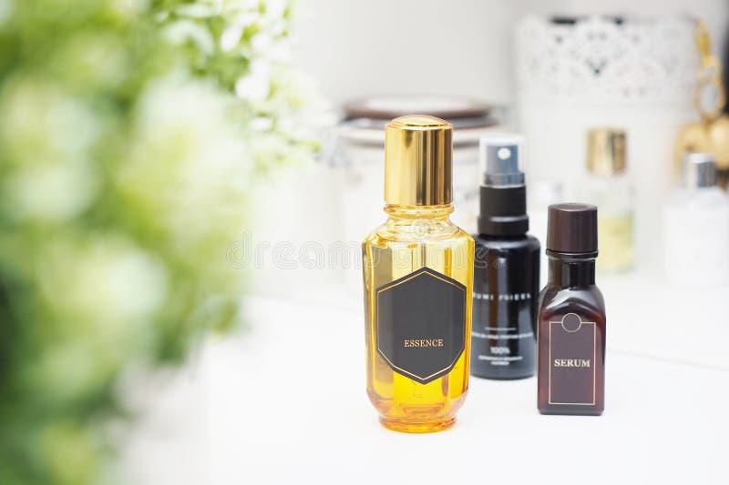 Naturliga skönhetsmedel för skincare arkivfoton