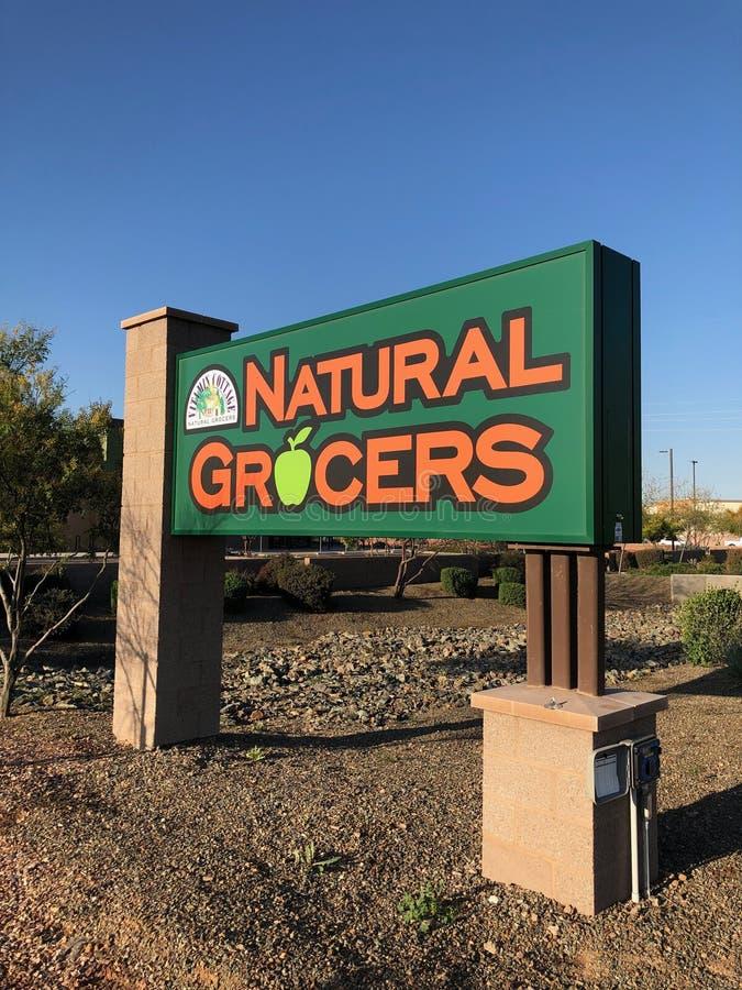 Naturliga specerihandlare arkivfoton
