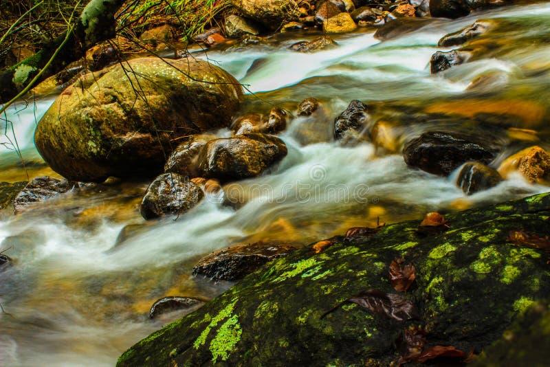 Naturliga vattenvårar fotografering för bildbyråer
