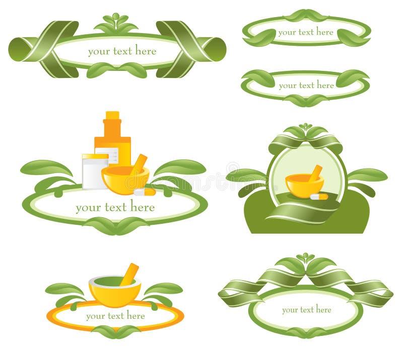 naturligt långt vektor illustrationer