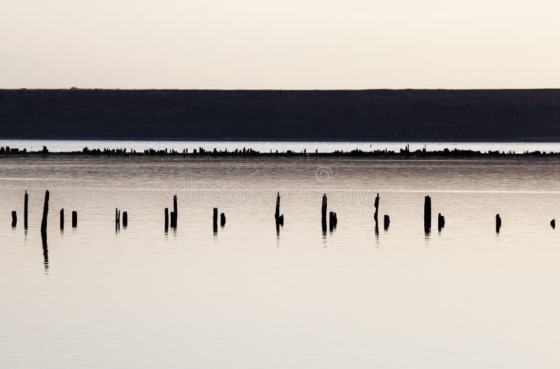 Naturligt landskap, lehman i odessa arkivfoto