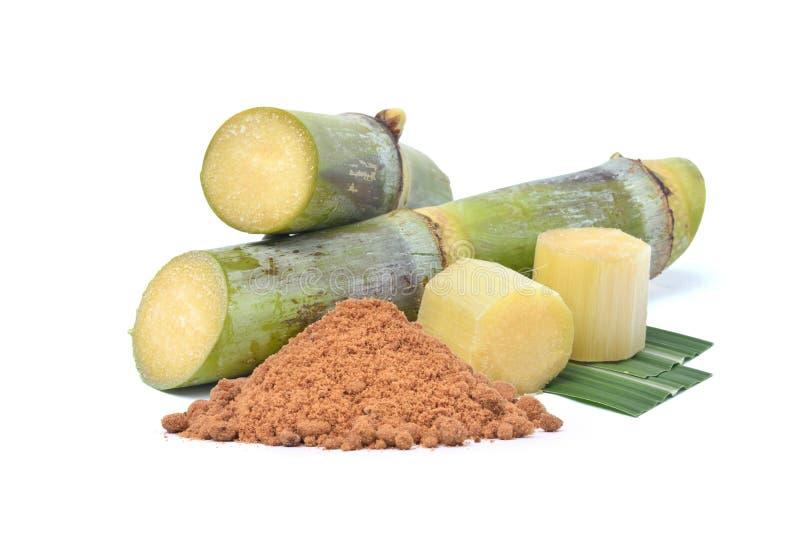 Naturligt rått socker som göras från den organiska sockerrottingen royaltyfri fotografi