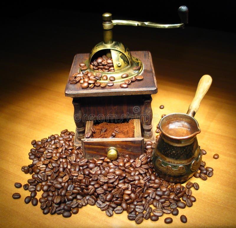 Naturmort do café foto de stock royalty free