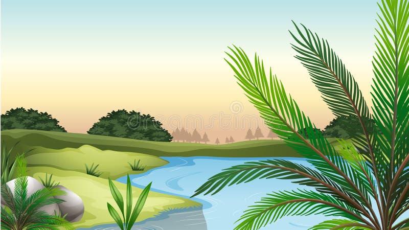 Naturresurser royaltyfri illustrationer