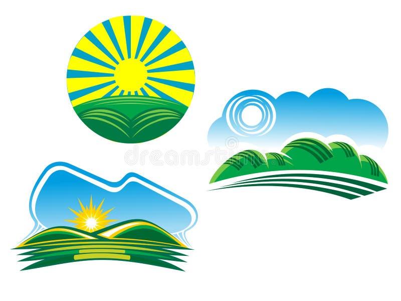 Download Natursymboler vektor illustrationer. Illustration av oklarhet - 19786897