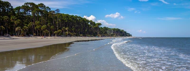 Naturszenen um Jagdinsel South Carolina lizenzfreie stockfotos