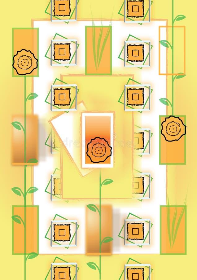 naturtouch stock illustrationer