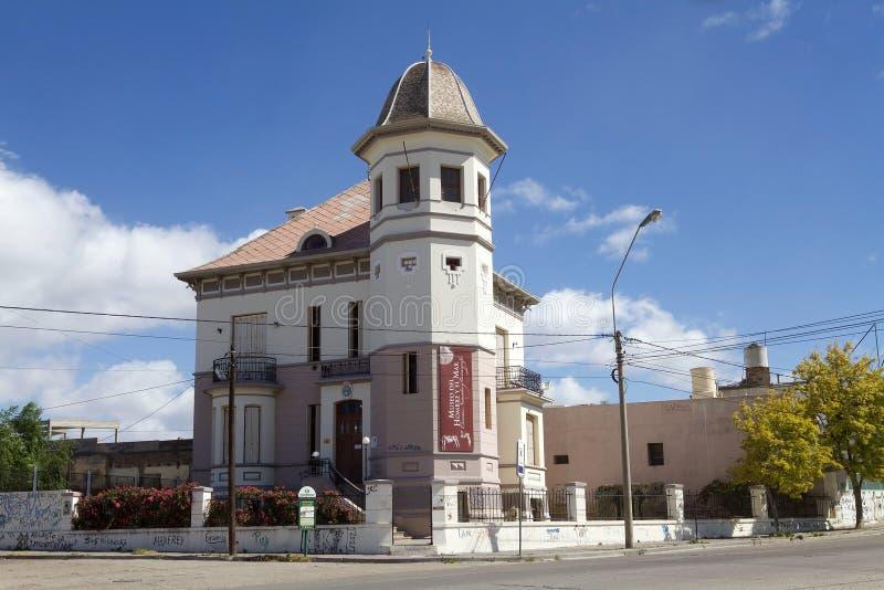 Naturvetenskapen och det oceanografiska museet i Puerto Madryn, Argentina royaltyfria foton