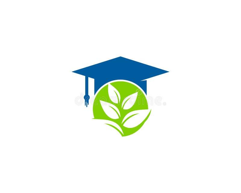 Natury Eco edukaci ikony loga projekta element ilustracji