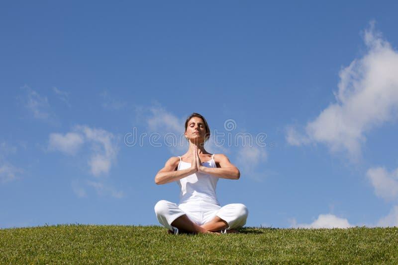 natury joga zdjęcia stock