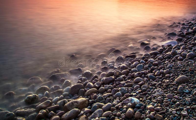 Natury morza tło zdjęcia stock