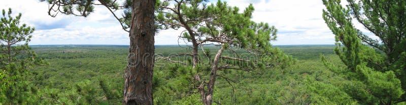 natury panorama Wisconsin fotografia royalty free