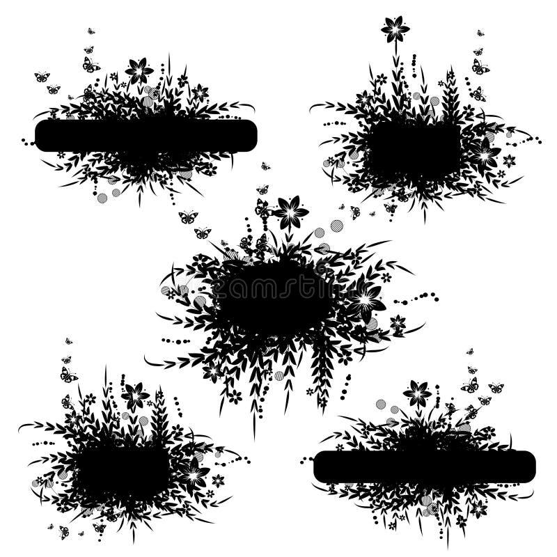 natury ramowa sylwetka ilustracji