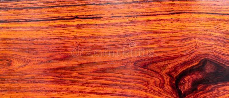 Natury rosewood egzota Birmański drewno zdjęcia royalty free