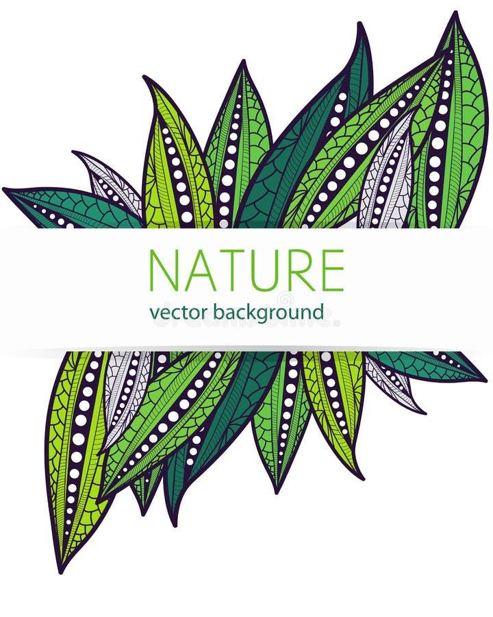 Natury tło ilustracja wektor