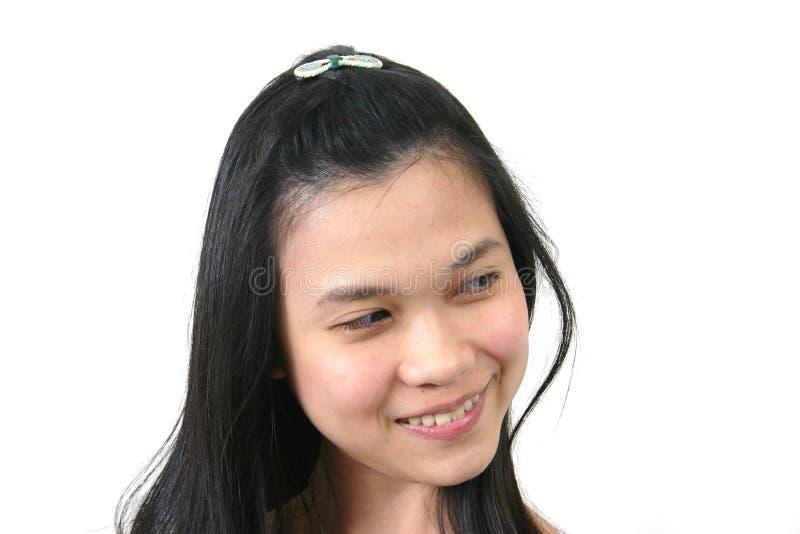 Natuurlijk jong Aziatisch meisje 7 royalty-vrije stock foto
