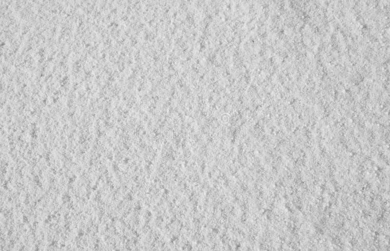 Natuurlijke achtergrond - nieuw-gevallen sneeuw royalty-vrije stock afbeeldingen