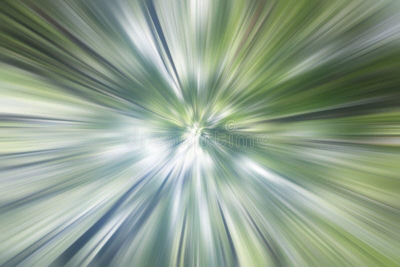 Natuurlijke achtergrondillustratie Bomen in groene en witte motiekleuren Kijk op mening De digitale aard verlaat patroon en textu royalty-vrije stock afbeeldingen