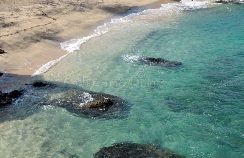 Natuurlijke Blauwe Lagune stock fotografie