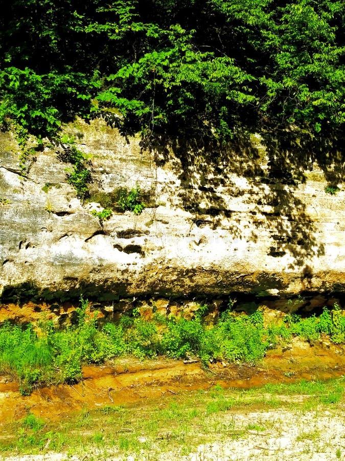 Natuurlijke Bluffs royalty-vrije stock foto