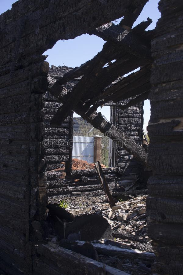 Natuurlijke brandas met donkere grijze zwarte steenkolentextuur Het is een brandbare zwarte harde rots Copyspace royalty-vrije stock foto's