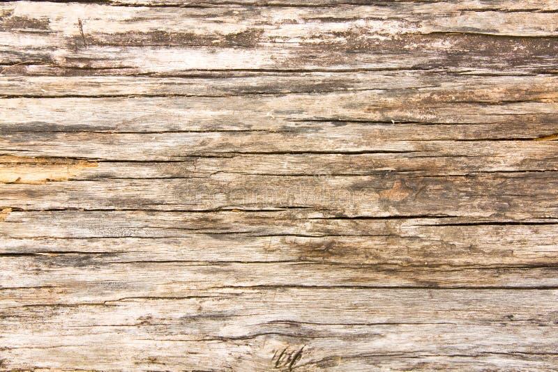 Natuurlijke bruine houten achtergrond royalty-vrije stock afbeeldingen