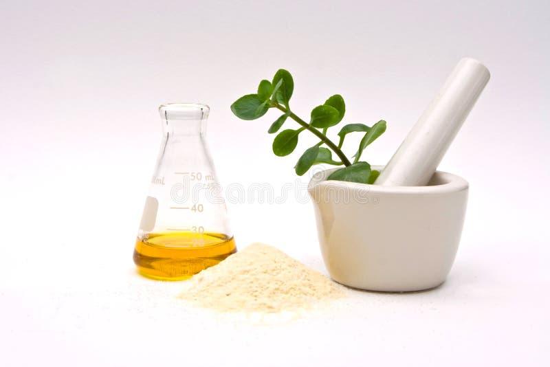 Natuurlijke chemie stock foto's