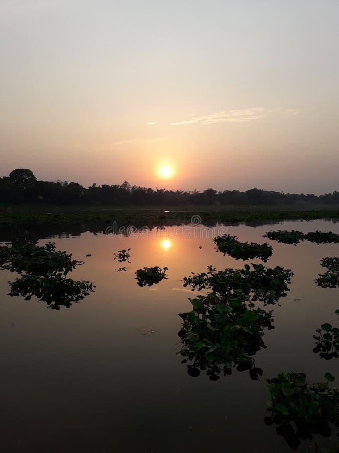 Natuurlijke de rivierkapasia van schoonheidsbangladesh royalty-vrije stock fotografie