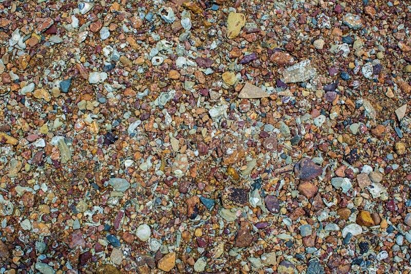 Natuurlijke de textuurachtergrond van de zandsteen Zand op het strand als achtergrond De concrete textuur van de kunstroom voor a stock fotografie
