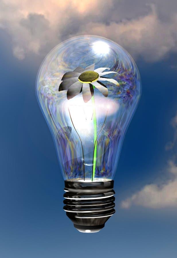 Natuurlijke energie vector illustratie