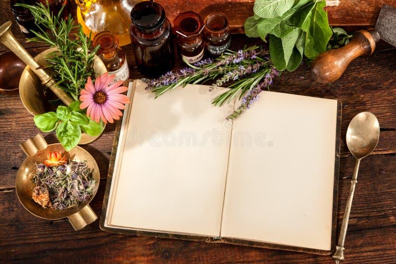 Natuurlijke geneeskunde stock fotografie