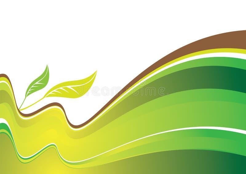 Natuurlijke heuvels vector illustratie