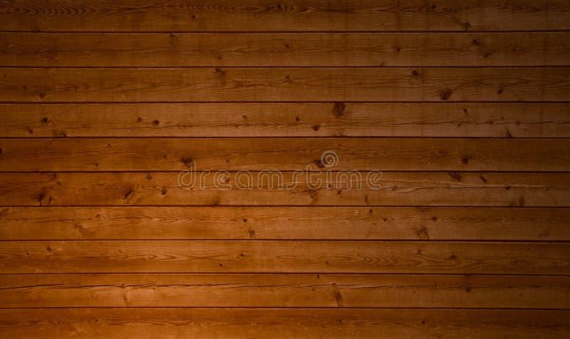 Natuurlijke houten bruine korrelplanken royalty-vrije stock foto's