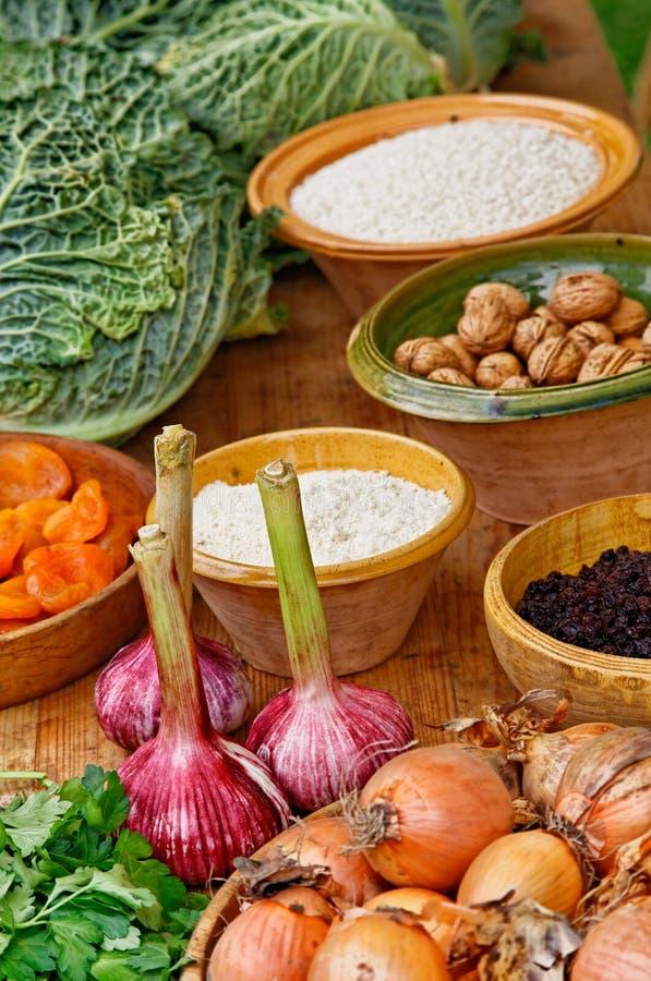 Natuurlijke Ingrediënten Royalty-vrije Stock Foto