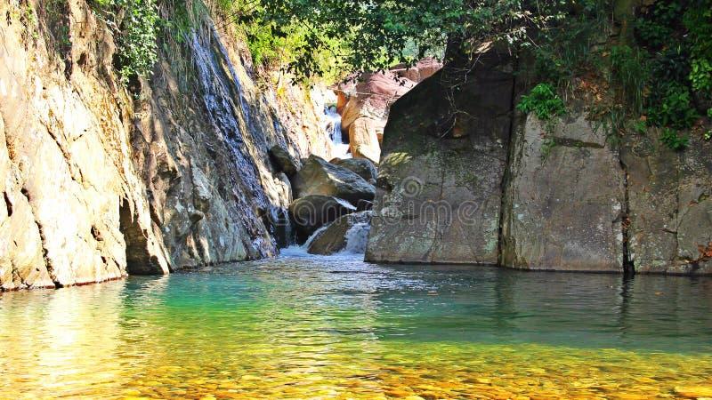 Natuurlijke pool royalty-vrije stock afbeeldingen
