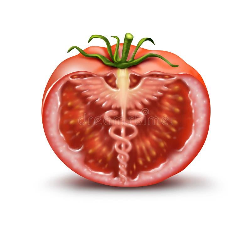 Natuurlijke voeding royalty-vrije illustratie