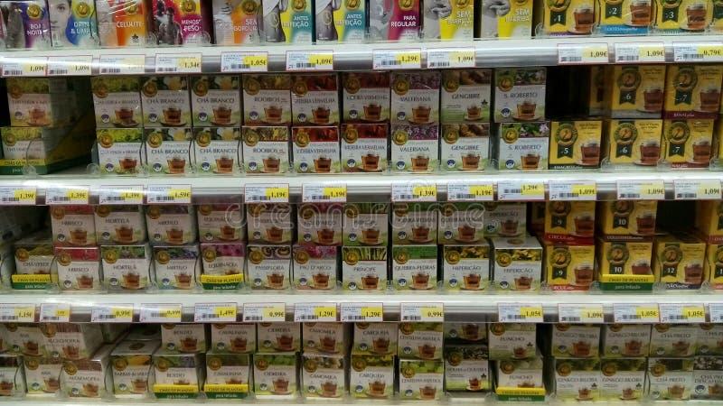 Natuurlijke voedingproducten stock foto