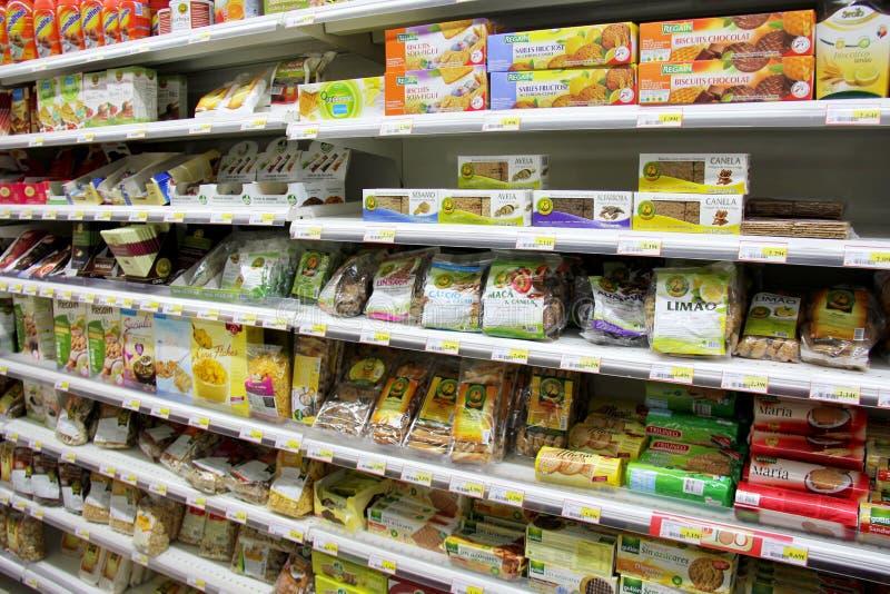 Natuurlijke voedingproducten royalty-vrije stock afbeeldingen